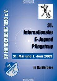 Pfingstcup Heft 2009 - SV Harderberg von 1950 eV