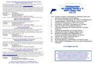 Prospekt Trainingslager 2012 Seite 1+2 - Delphin - Sport