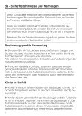 STB 201 / STB 205 - Miele - Page 2
