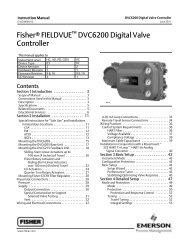 Fisherr FIELDVUE DVC6200 Digital Valve Controller - Askalon AB