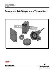Rosemount 248 Temperature Transmitter - Emerson Process ...