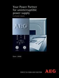 Your Power Partner For Uninterruptible Power Supply