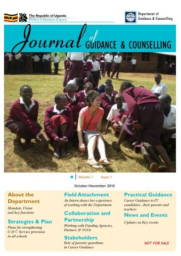 GUIDANCE & COUNSELLING - Ministry Of Education and Sports