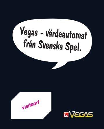 visitkort - Svenska Spel