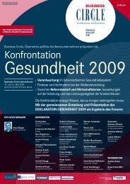 Konfrontation Gesundheit 2009 - CEMIT Center of Excellence in ...