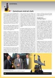 Gemeinsam sind wir stark - GS-Gabelstapler Service GmbH