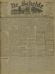 Nieuws- &Aankondigingsweekblad van Temsche en Omliggende