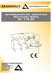 Siloverteiler SILOFOX SV 175 ST - Hagmann + Hug AG