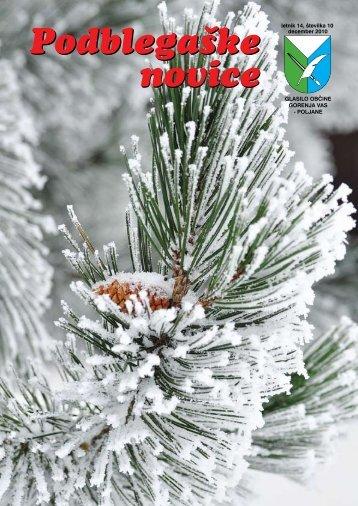 Vesele božične praznike, čestitke ob dnevu samostojnosti in ...
