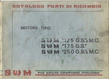 Catalogue pièces Rotax SWM - Vintage Aprilia
