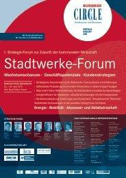 Stadtwerke-Forum 2013 - Österreichischer Gemeindebund