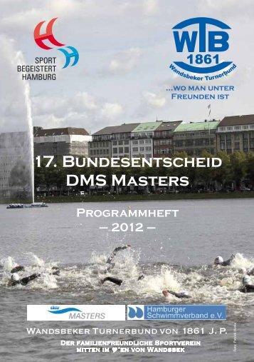 17. Bundesentscheid DMS Masters - Deutscher Schwimm-Verband eV