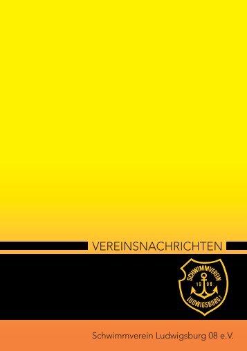 Infos unter 07141/910 2680 - Schwimmverein Ludwigsburg 08 eV