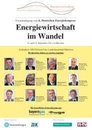 Energiewirtschaft im Wandel