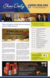 Download - Petrotech 2012, 10th International Oil and Gas conference