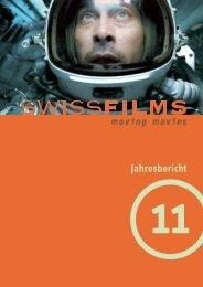 Jahresbericht 2011 PDF - Swiss Films