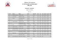 ORC Club 14. Csi-Cup 2011 - Csi-Yachtcharter weltweit