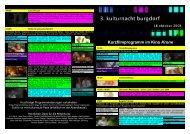 Kurzfilmprogramm im Kino Krone - Seniorweb.ch