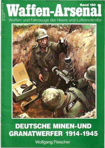 deutsche minen- und granatwerfer 1914