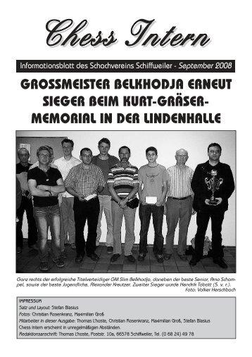 Gegnerische Spiellokale - Schachverein Schiffweiler
