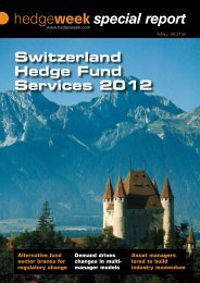 Switzerland Hedge Fund Services 2012 - Wake2o