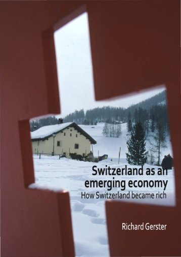 Switzerlan as a emerging economy - with Gerster Consulting