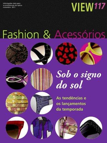 Fashion & Acessórios - Revista View
