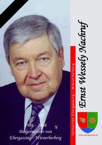 Ernst Wessely - Ebergassing