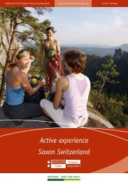Saxon Switzerland Active experience - Tourismusverband ...
