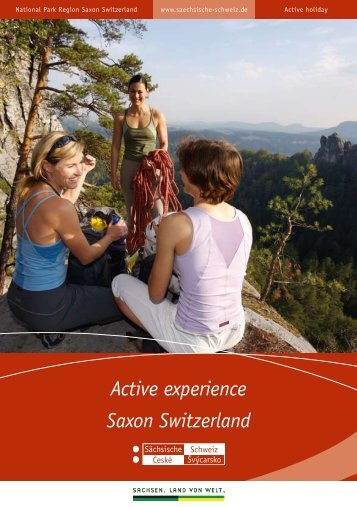 Saxon Switzerland Active experience - Tourismusverband ...