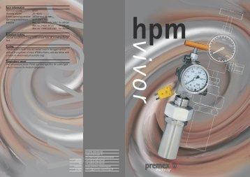 premex reactor ag industriestrasse 11 ch-2543 lengnau/switzerland ...