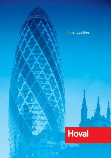 Inner qualities. - Hoval Logo