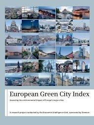 Overall report: European Green City Index - Siemens