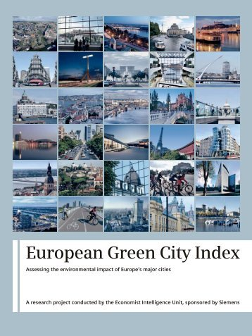Overall report: European Green City Index - Siemens