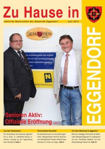 Senioren Aktiv: Offizielle Eröffnung Seite 11 - Gemeinde Eggendorf