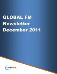 GLOBAL FM Newsletter December 2011 - BIFM