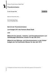 Bildungs- und Kulturkommission (BKK) - Grosser Rat - Basel-Stadt
