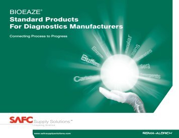 BIOEAZE® Standard Products For Diagnostics ... - Sigma-Aldrich