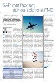 Mediaplanet dans Le Temps - Dossier Progiciel - GRI - Page 3