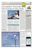 Mediaplanet dans Le Temps - Dossier Progiciel - GRI - Page 4