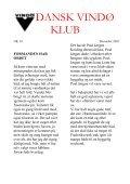DANSK VINDØ KLUB - Page 2
