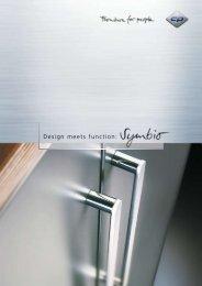 Design meets function: - C + P Möbelsysteme GmbH & Co. KG