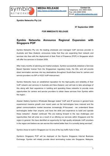self reg announcement press release final network advertising