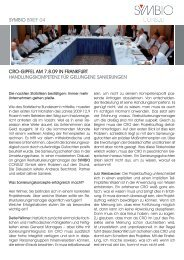 Newsletter 4.indd - SYMBIO CONSULT