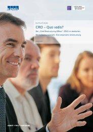"CRO – Quo vadis? Der ""Chief Restructuring Officer"" (CRO ... - KPMG"