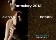 formulary 2012 classic natural - Kinetik