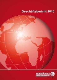Geschäftsbericht 2010 (pdf 1.0 mb) - Europäische Reiseversicherung