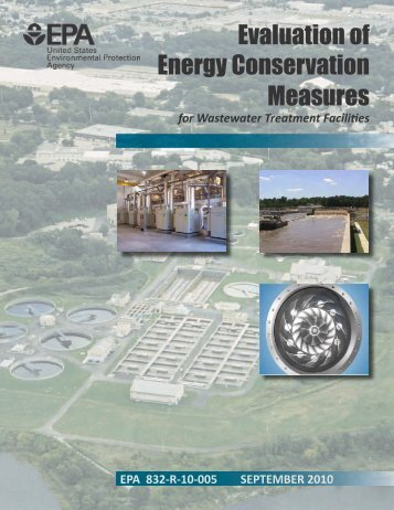 Evaluation of Energy Conservation Measures for Wastewater ...