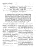 Primary Gut Symbiont and Secondary, Sodalis-Allied Symbiont of ... - Page 2