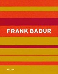 FRANK BADUR - Hamish Morrison Galerie
